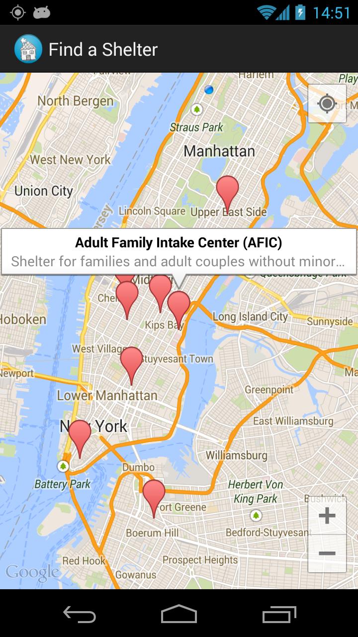 Android  Rasmiio - Nyc map app android